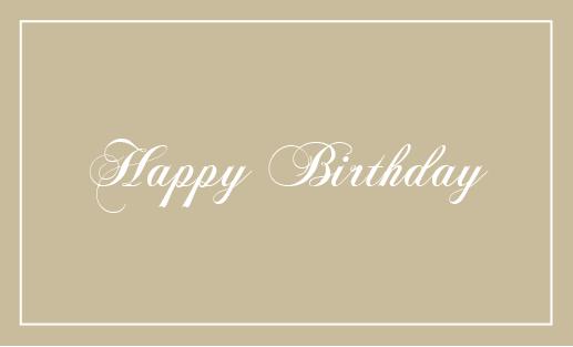 誕生日 表 メッセージカードq
